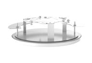 TR-FM152-A-IN Indoor Fixed Dome In-ceiling Mount